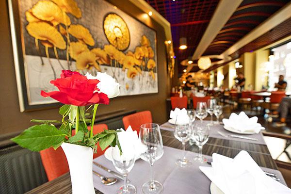 innenansicht des lay thai restaurants